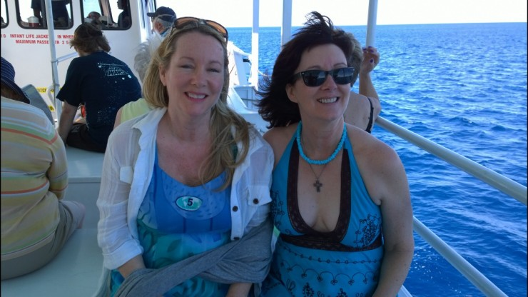 Moira and Vicki on TCM Cruise