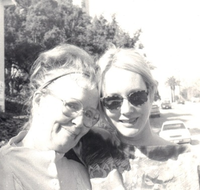 Mother Nancy with Moira